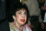 Elizabeth Taylor Diamond Chandelier Earrings
