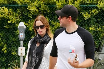 Emily Blunt John Krasinski Emily Blunt and John Krasinski Are Spotted Out and About