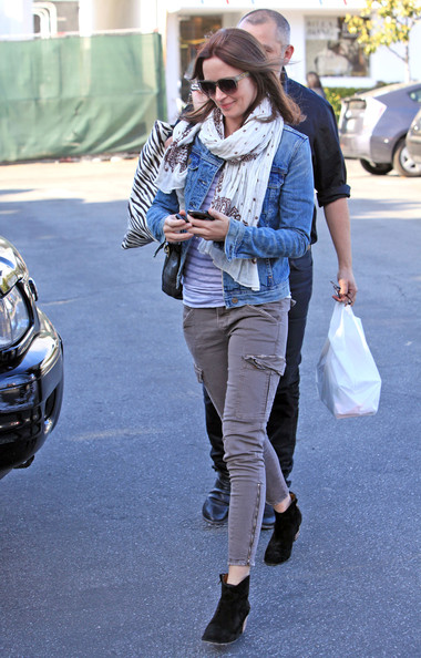 Emily Blunt Denim Jacket