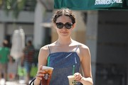 Emmy Rossum Cateye Sunglasses