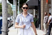 Emmy Rossum Chain Strap Bag