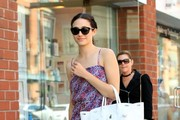 Emmy Rossum Thong Sandals
