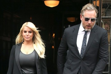Eric Johnson Jessica Simpson Jessica Simpson & Eric Johnson Out and About in NYC