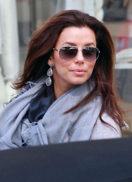 More Pics of Eva Longoria Solid Scarf (1 of 41) - Eva Longoria Lookbook - StyleBistro