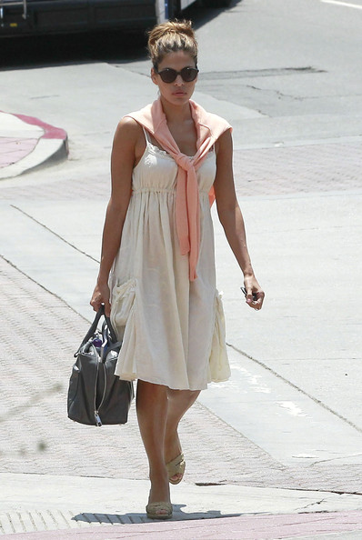 Eva Mendes Day Dress