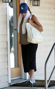 A large stylish handbag is essential when your on the go!