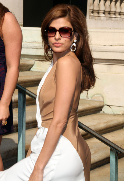 Eva Mendes Square Sunglasses