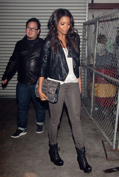 Gabrielle Union Leather Jacket