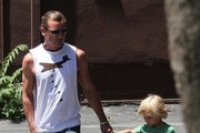 Gavin Rossdale Denim Shorts
