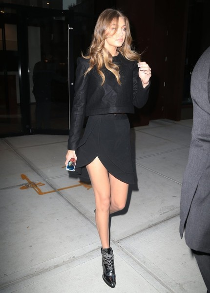 Gigi Hadid Mini Skirt
