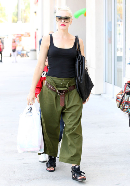 Gwen Stefani Wide Leg Pants