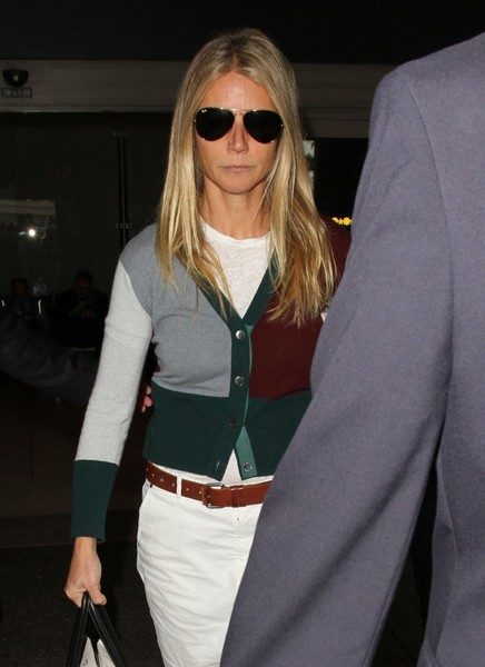 Gwyneth Paltrow Aviator Sunglasses