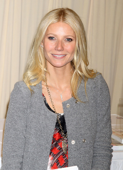 Gwyneth Paltrow Medium Straight Cut