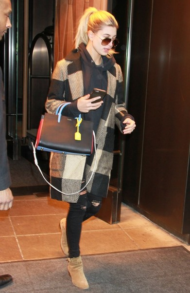 Hailey Bieber Ankle Boots