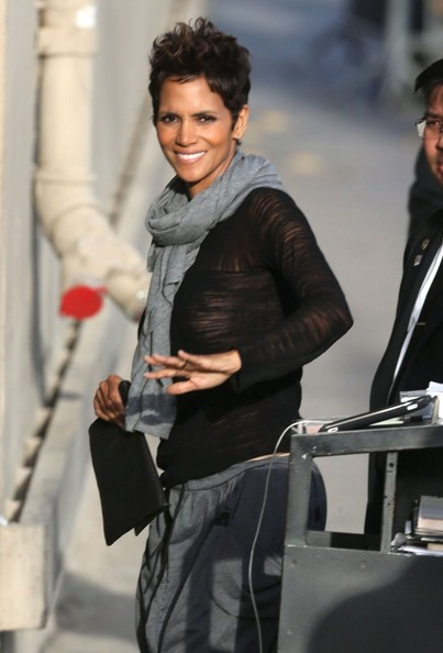 More Pics of Halle Berry Ankle Boots (1 of 11) - Halle Berry Lookbook - StyleBistro
