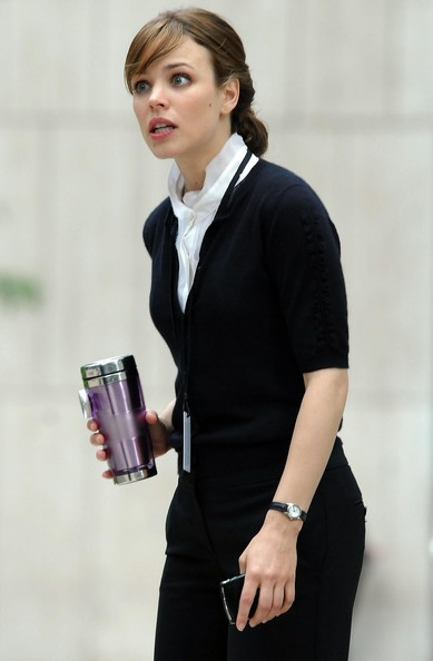 More Pics of Rachel McAdams Leather Band Quartz Watch (1 of 16) - Rachel McAdams Lookbook - StyleBistro