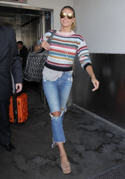 Heidi Klum Crewneck Sweater