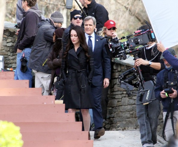 Madeleine Stowe Films 'Revenge' In West Hollywood