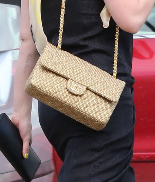 Hilary Duff Chain Strap Bag