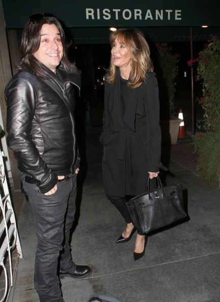 Jaclyn Smith Dines Out at Madeo