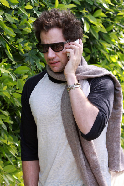 Jamie Kennedy shielded his eyes from the glaring Santa Monica sun with a pair of flattering square-shaped sunglasses.