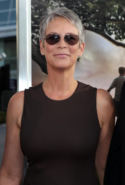 Jamie Lee Curtis Aviator Sunglasses