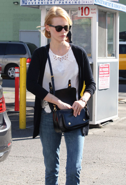 More Pics of January Jones Patent Leather Shoulder Bag (2 of 39) - Shoulder Bags Lookbook - StyleBistro
