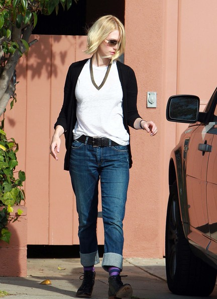 More Pics of January Jones Flat Oxfords (1 of 12) - January Jones Lookbook - StyleBistro