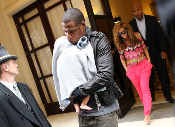 Beyonce and Jay-Z Step Out With Blue Ivy