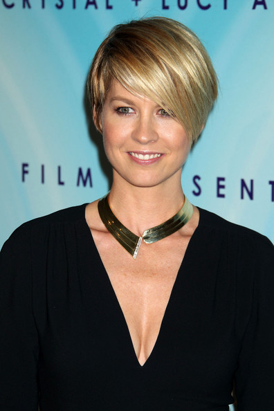 Jenna Elfman Gold Statement Necklace