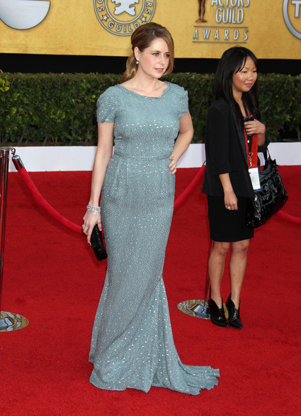 Jenna Fischer Beaded Clutch