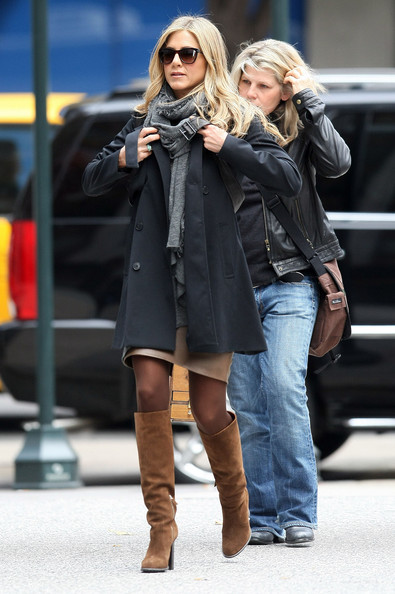 Jennifer Aniston Knee High Boots
