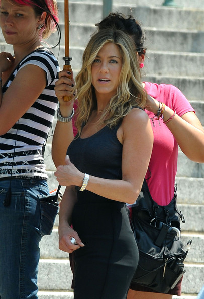 More Pics of Jennifer Aniston Rectangle-faced Watch (1 of 34) - Jennifer Aniston Lookbook - StyleBistro