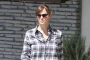 Jennifer Garner Quilted Leather