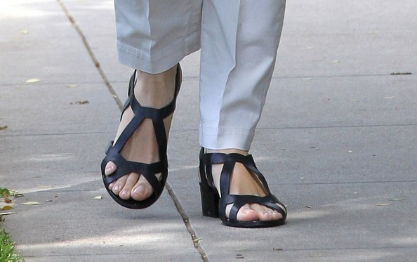 Jennifer Garner Gladiator Sandals