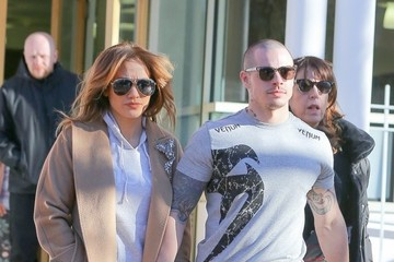Jennifer Lopez Casper Smart Jennifer Lopez and Casper Smart Go Out in NYC