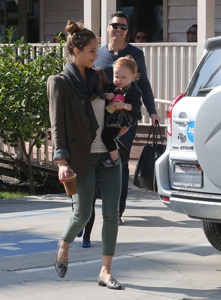 More Pics of Jessica Alba Tassel Loafers (21 of 40) - Loafers Lookbook - StyleBistro