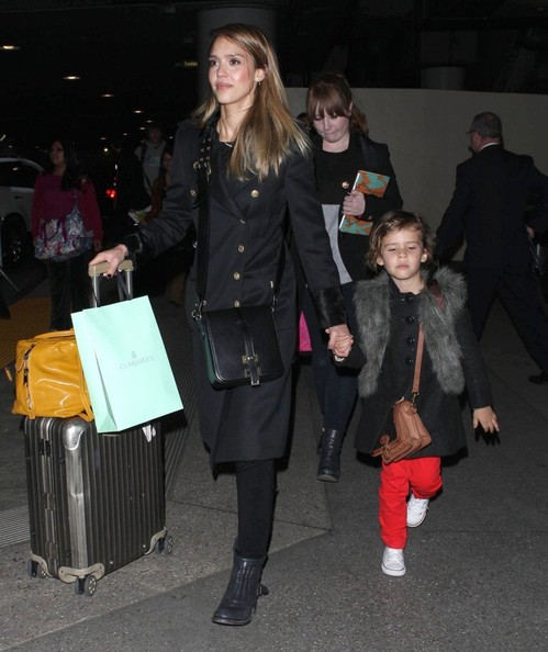 Jessica & Honor Arriving On A Flight At LAX