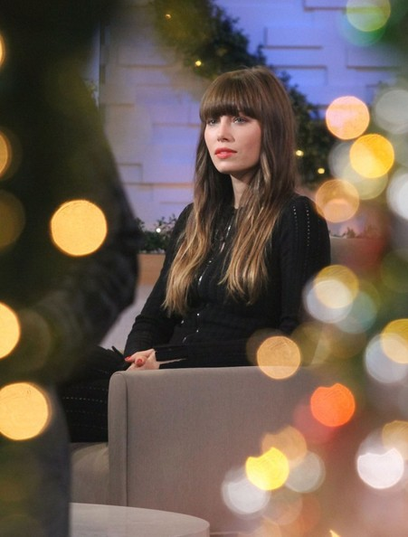 """Jessica Biel Stops By """"Good Morning America"""""""