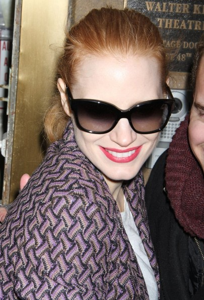 More Pics of Jessica Chastain Skinny Pants (3 of 12) - Jessica Chastain Lookbook - StyleBistro