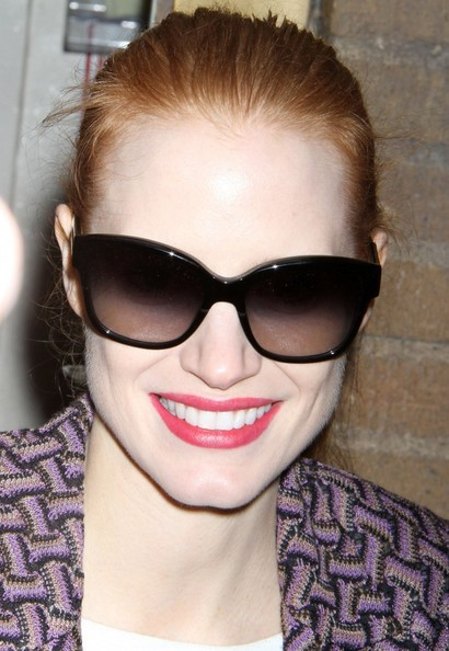 More Pics of Jessica Chastain Skinny Pants (1 of 12) - Jessica Chastain Lookbook - StyleBistro