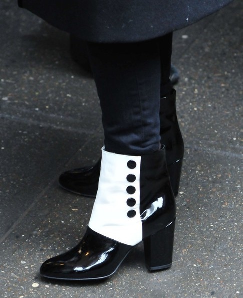 Jessica Chastain Ankle Boots