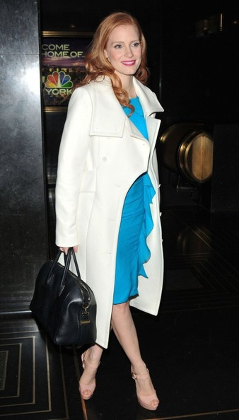 """Jessca Chastain Stops by the """"Jimmy Fallon"""" Show"""