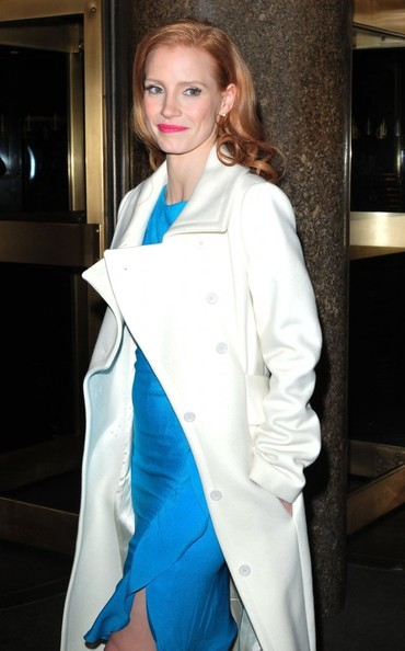 "Jessca Chastain Stops by the ""Jimmy Fallon"" Show"