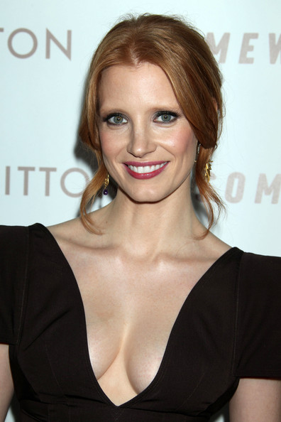 Jessica Chastain Makeup Lip    Jessica Chastain