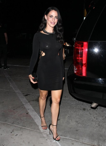Jessica Lowndes Cutout Dress
