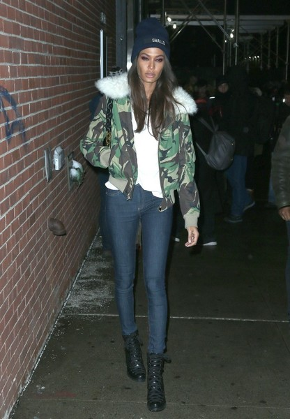Joan Smalls Lace Up Boots