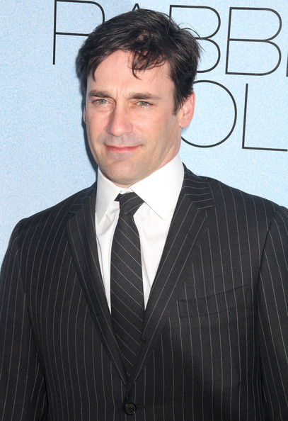 Jon Hamm Striped Tie