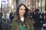 Jordana Brewster Leather Tote