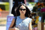 Jordana Brewster Oversized Sunglasses